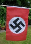 HAND WAVING FLAG - WWII REGULAR NAZI